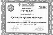 """Курс по Эндохирургии в клинике """"Гарвис"""", Днепропетровск, 2010"""
